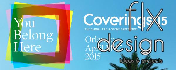 Coverings 2015 logo